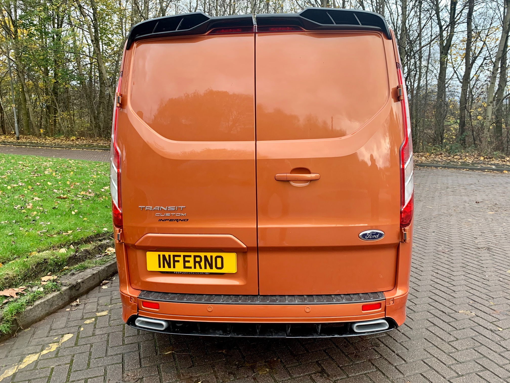 IMG_8020.jpg - 320 L2 DIESEL FWD 2.0 EcoBlue 185ps Low Roof Limited Van Auto Inferno-X